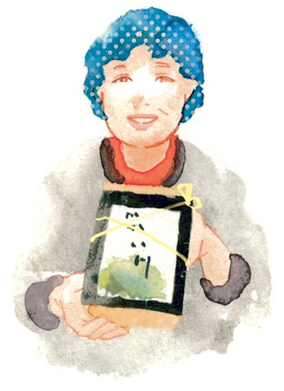 「弁当は1,080円。土日祝日、嘉例川駅ではガネも販売しています」と、山田まゆみさん