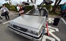 古い記事: 夢の車・デロリアン。時を超えて錦江湾高校に出現【動画】