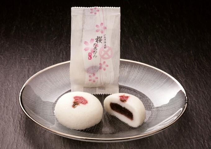 結納菓子としても好評の桜かるかん