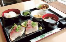 海鮮味処 魚島(道の駅長島)ブリのたたき定食