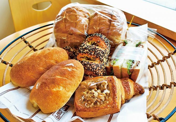 パン工房 マテリアのパン
