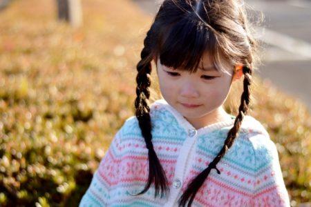 泣いている子供イメージ