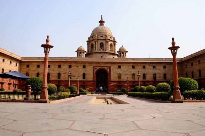 インドの大統領官邸 ラシュトラパティ バワン