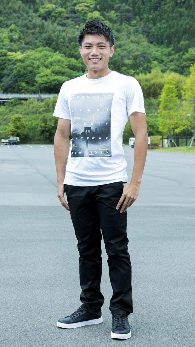 鹿児島ユナイテッドFC DF塚田 翔悟選手の私服
