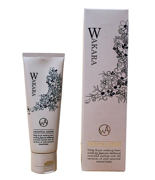 洗顔フォーム「WAKARA」