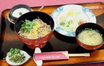 郷土料理「宮の杜」黒毛和牛たけのこ丼
