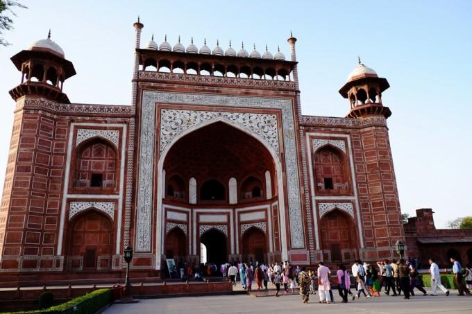 ザ・インド タージマハルの正門