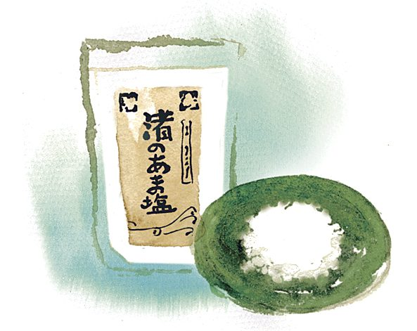 渚のあま塩イラスト