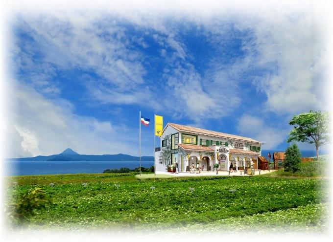 南風農菓舎デザートハウス完成イメージ