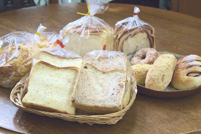 御菓子司 前田家の食パン「角食」。雑誌ブルータスにも紹介された!!