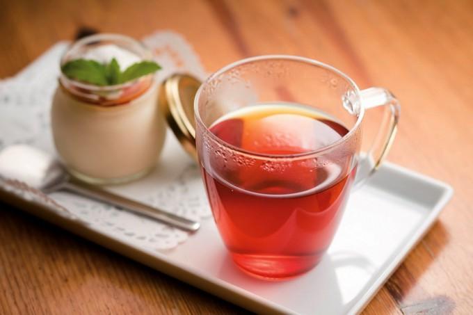 くちどけプリンとしょうが紅茶のセット