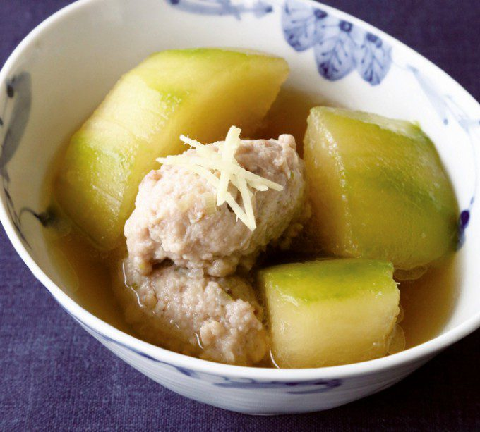 冬瓜と鶏団子のスープ