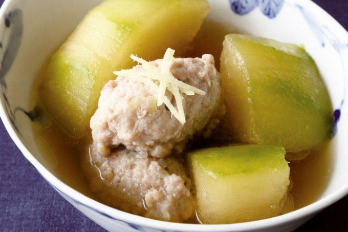 門倉多仁亜の冬瓜と鶏団子のスープ