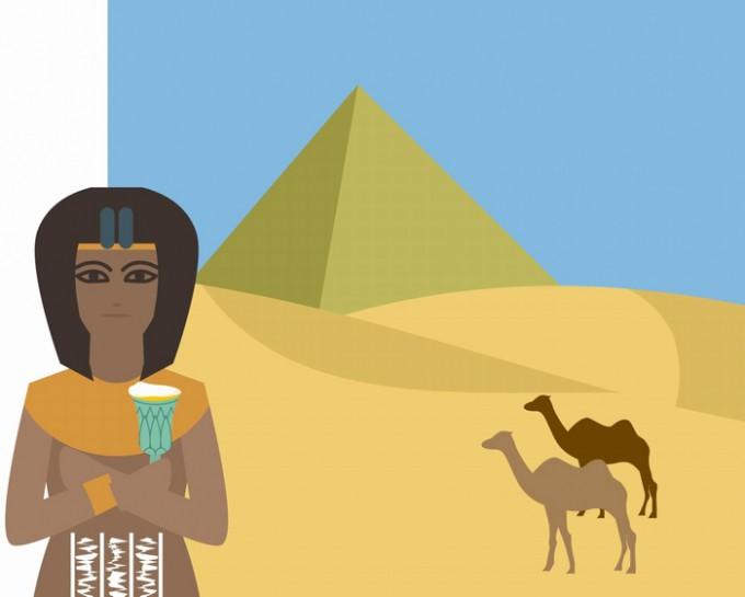 古代エジプト・ピラミッドイメージ