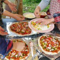 さつまドリームファームでピザ作り体験