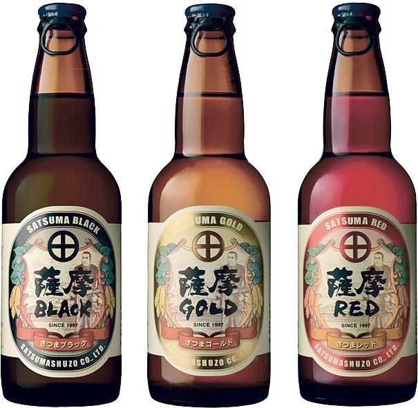 薩摩酒造明治蔵のサツマイモを使った発泡酒3種類
