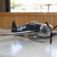 グラマン機の模型