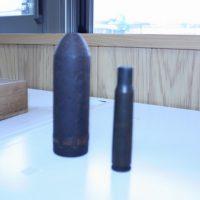 機銃掃射の弾丸や薬きょう