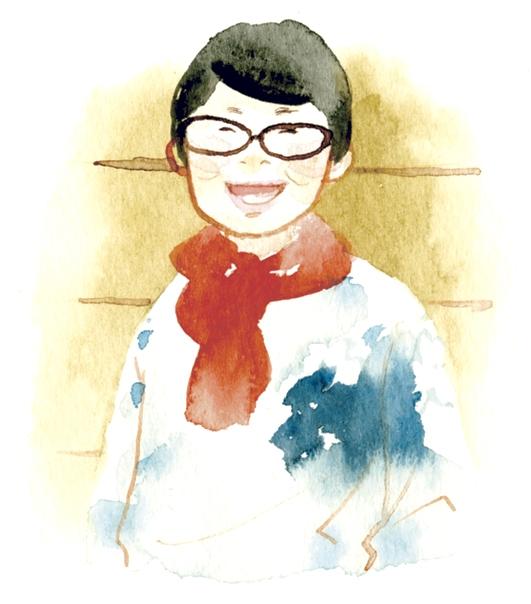笑顔がすてきな村岡さん