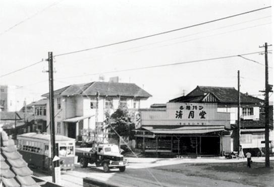 戦後の清月ベーカリー店舗