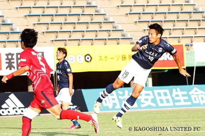 鹿児島ユナイテッドFC FW_19 藤井 貴之選手