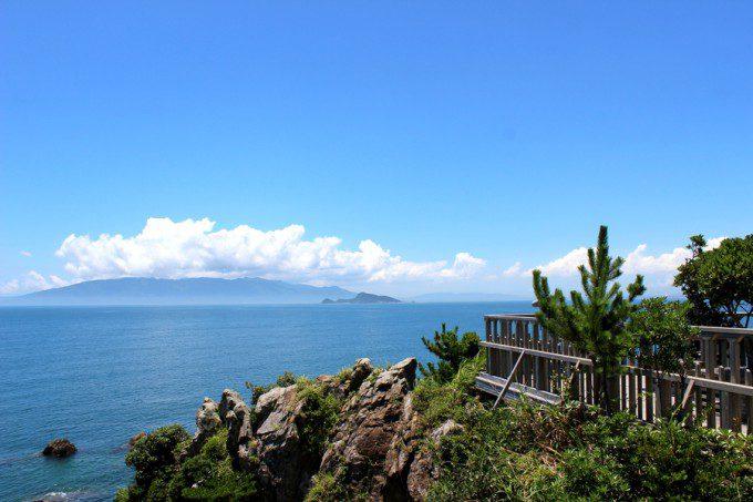 志布志湾イルカランド内の七福岬