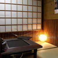 加茂川の半個室