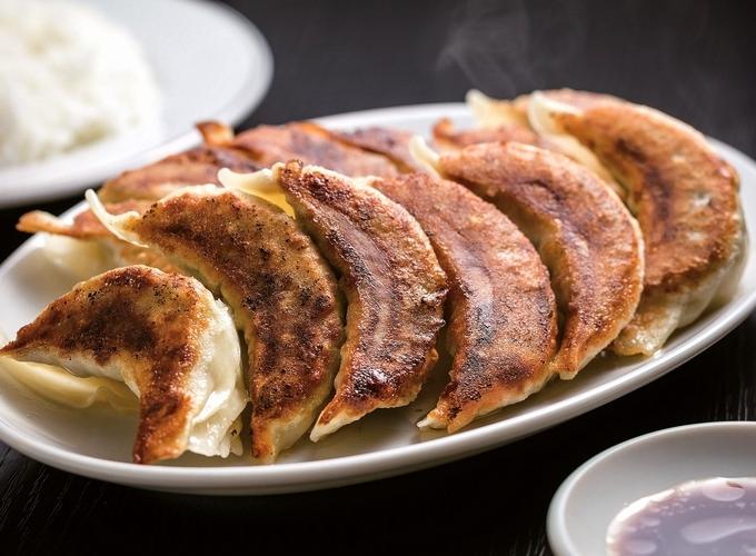 中華料理 萬龍「焼きぎょうざ」