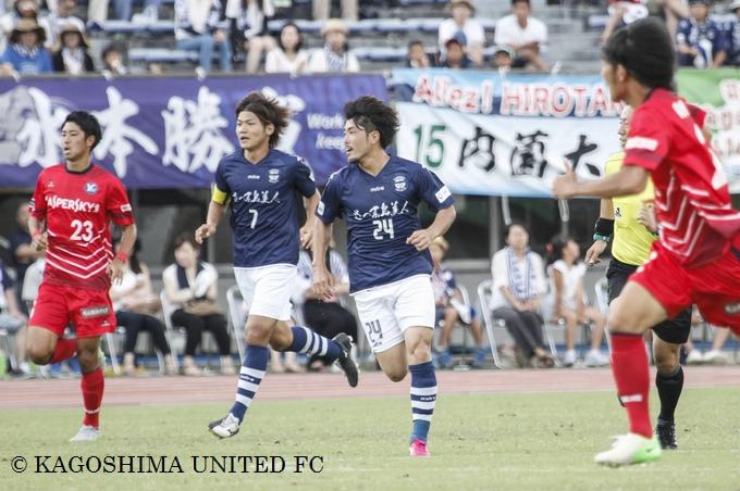 鹿児島ユナイテッドFC MF/金久保 彩選手