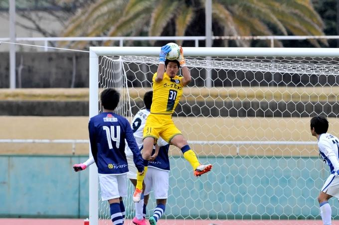 鹿児島ユナイテッドFC GK/山岡 哲也選手