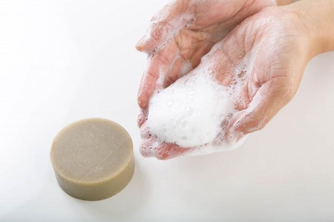 MARapelarのオーガニッククレイ石鹸