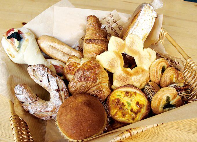 ブーランジェリー・クープのパン
