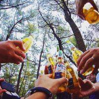 くにの松原キャンプ場祭り