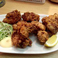 木庵の鶏塩から揚げ