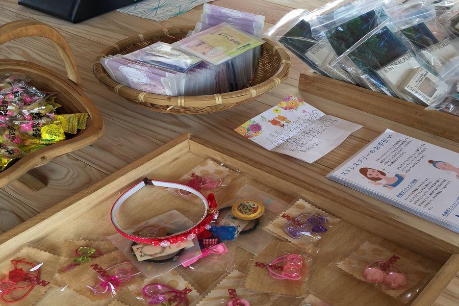 女性目線の支援物資