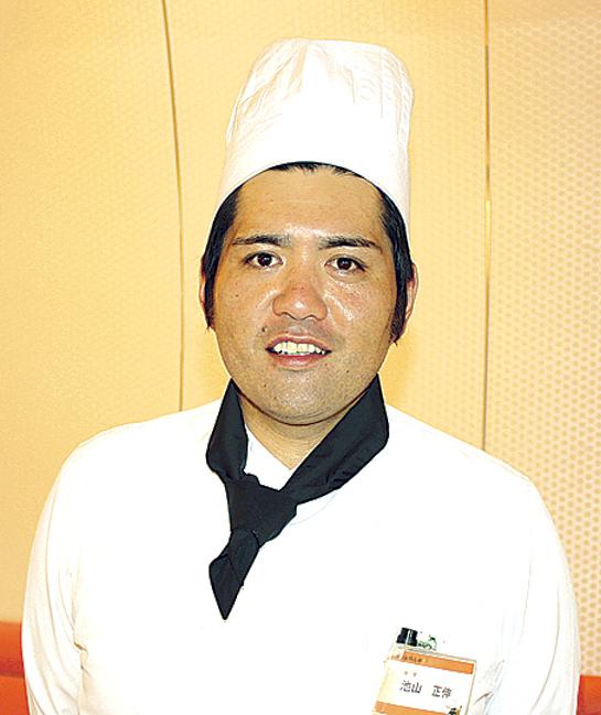 黒酢レストラン 黒酢の郷桷志田 池山正伸さん