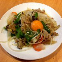 東龍の野菜炒め