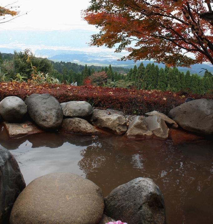 白鳥温泉 上湯の露天風呂