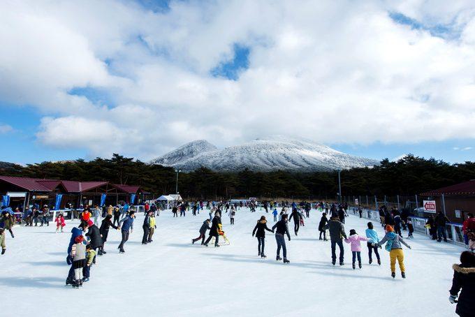 えびの高原屋外アイススケート場