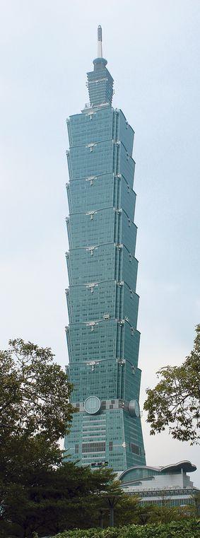 台北101は台北のランドマーク