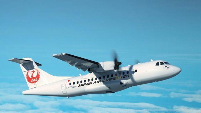 日本エアコミューター・ATR42-600型機