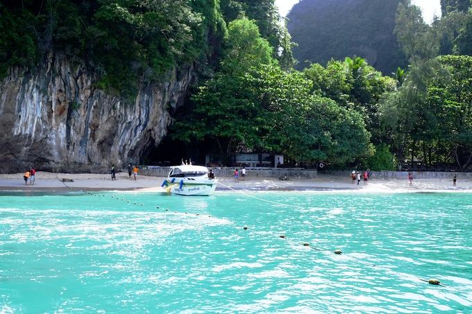 タイのリゾート・クラビの海