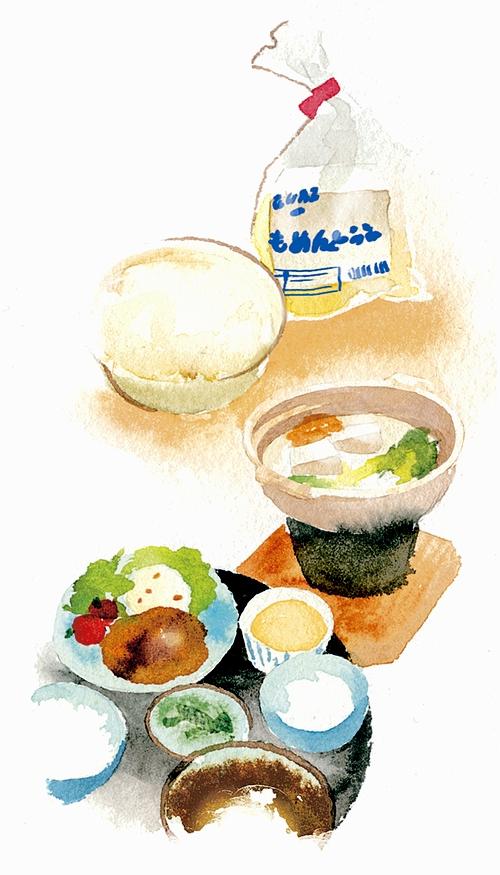 豆腐料理のぶちゃん屋イラスト