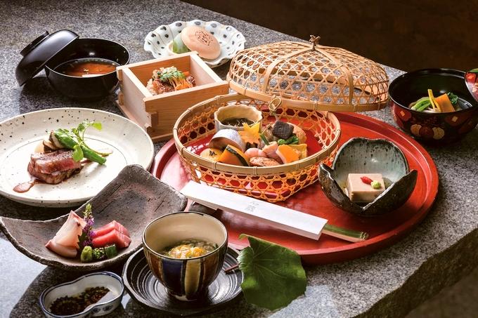 食菜 石蔵「かご盛り膳」