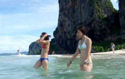 タイのリゾート・クラビの海は美しい…