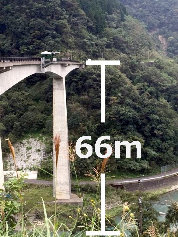五木バンジーのある小八重橋