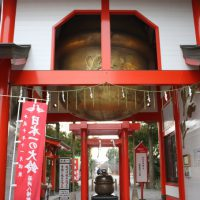 箱崎八幡神社の日本一大きい鈴