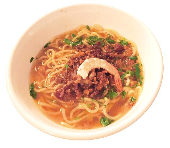 担仔麺は台湾風汁そば