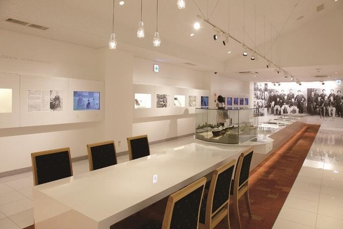 薩摩藩英国留学生記念館展示室