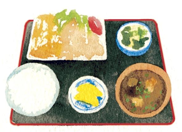 大鶴ゆうゆう館「おふくろの味」イラスト